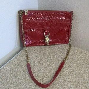 Rebecca Minkoff Patent Leather Crossbody Bag.